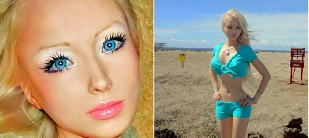 Foto: El aspecto de Valeria Lukyanova recuerda al de Barbie (Instagram)