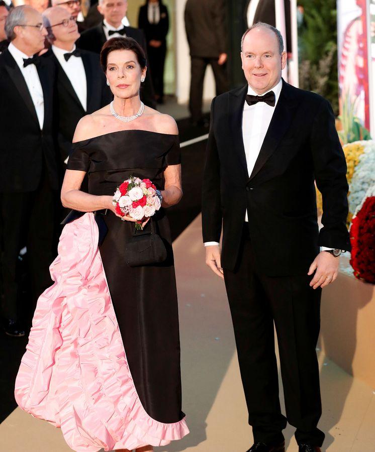 Foto: Carolina y Alberto de Mónaco. (Reuters)