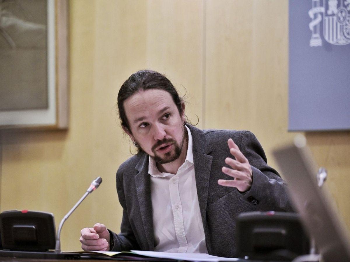 Foto: El vicepresidente segundo y ministro de Derechos Sociales y Agenda 2030, Pablo Iglesias. (EFE)