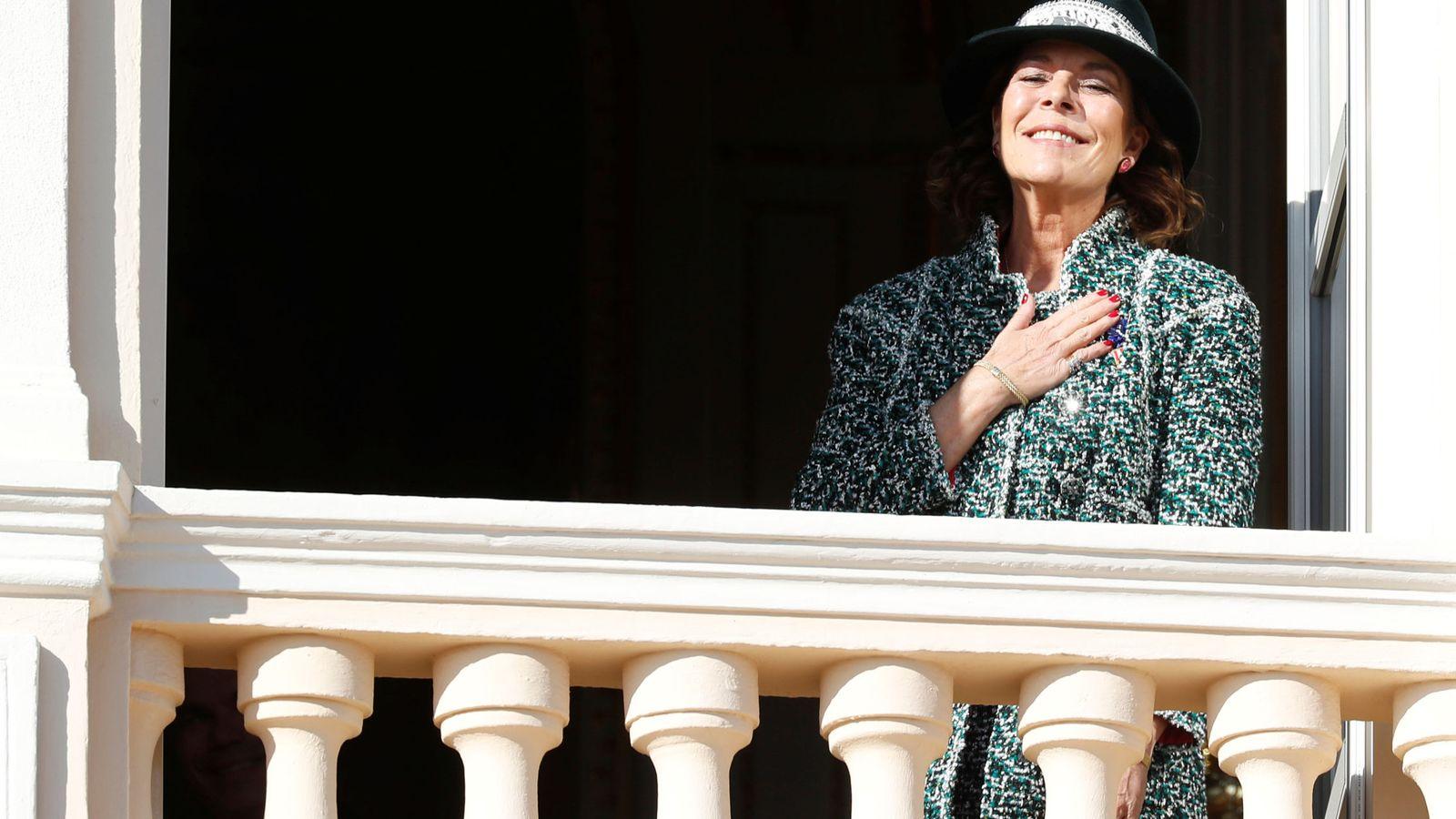 Foto: Carolina de Mónaco en palacio el noviembre pasado. (Reuters)