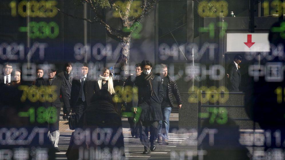 Foto: Panel de valores en Tokio. (Reuters)