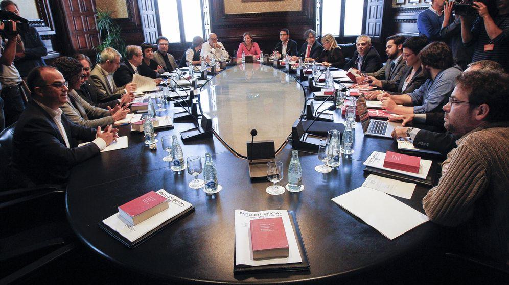 Foto: Arranca la junta de portavoces del Parlament envuelta de polémica y sin el PPC