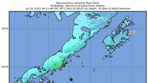 Desactivada la alerta de tsunami en Alaska tras un terremoto de magnitud 8,2