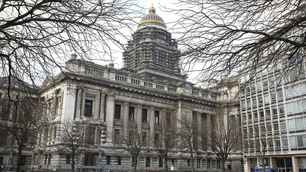 Foto: Vista general del Palacio de Justicia en Bruselas, Bélgica. (Efe)
