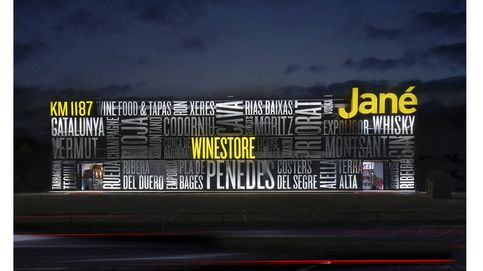 La nueva vinoteca Jané Winestore y su espacio gastronómico Km 1187