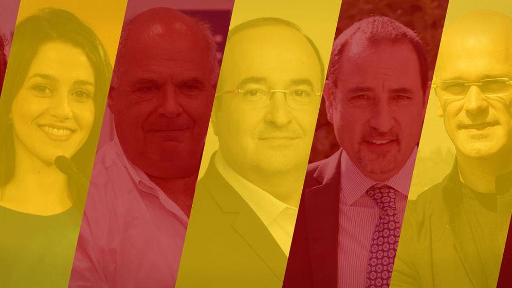 Foto: Todo lo que no sabe de la vida privada de los siete magníficos de Cataluña