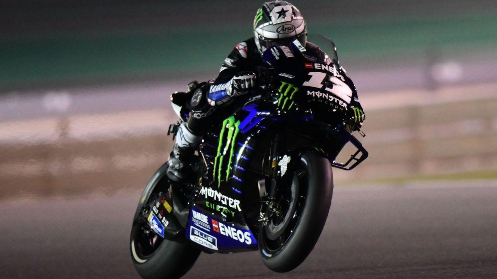 Foto: Maverick Viñales logró la primera pole de la temporada en MotoGP. (EFE)
