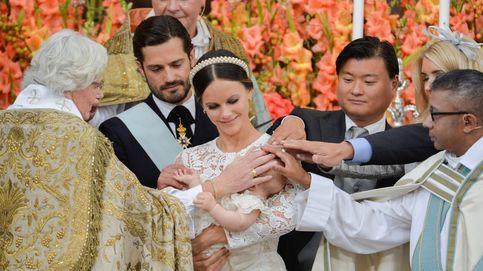El bautizo del príncipe Alexander de Suecia, en imágenes