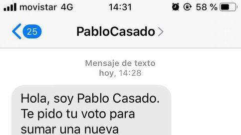 El PP apura la campaña con SMS de último minuto: Hola, soy Pablo Casado