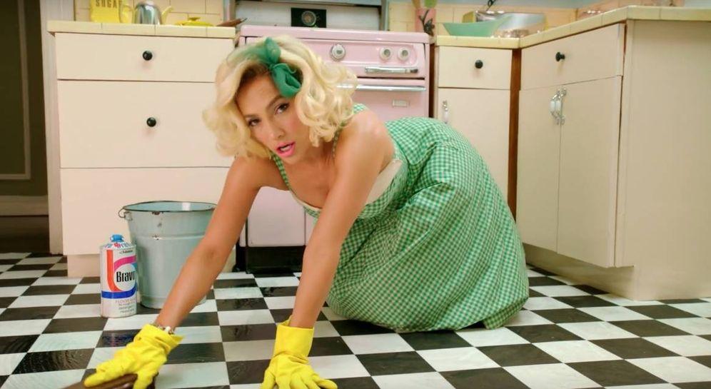 Foto: Jennifer López en el vídeo de Ain't Your Mamma