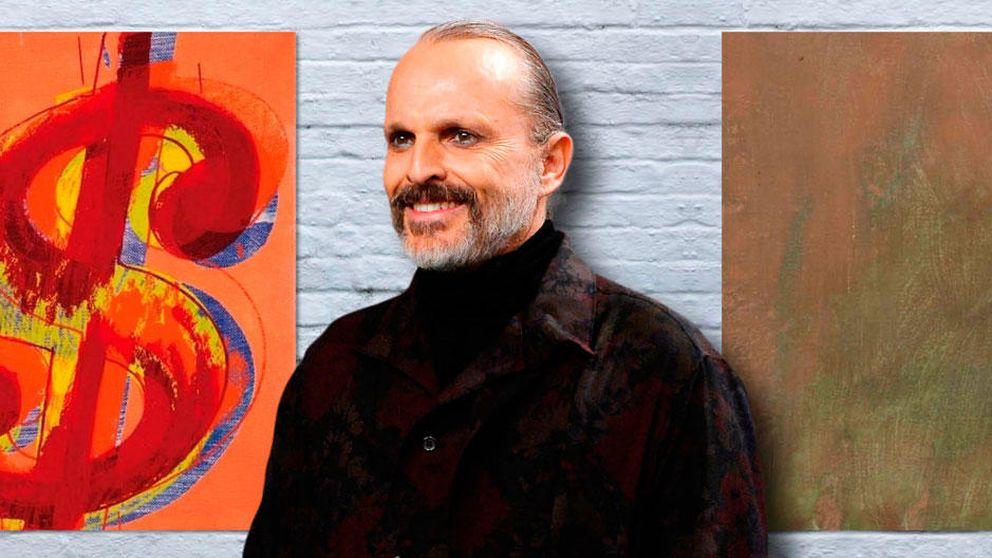 Miguel Bosé vende dos Warhols: los motivos de sus problemas de liquidez