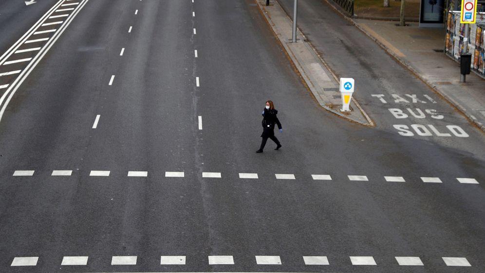 Foto: Madrid en pleno estado de alarma. (Reuters)