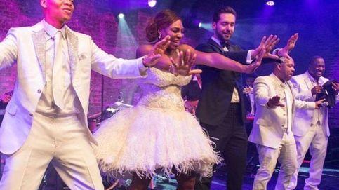Serena Williams ya presume de vestido de novia tras cerrar su exclusiva