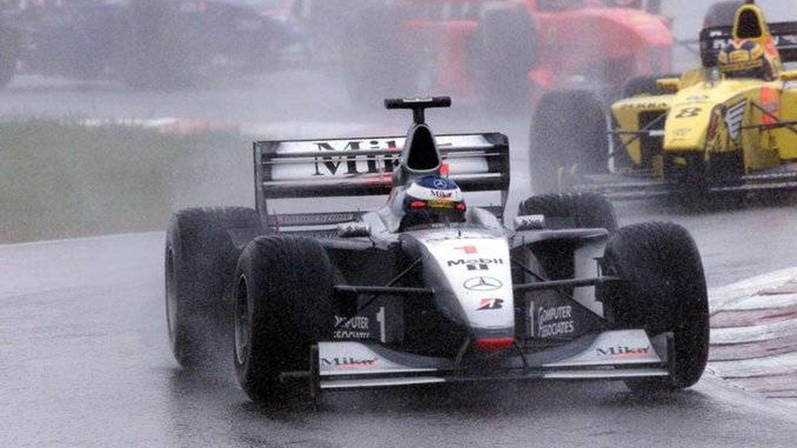 Foto: McLaren y Mercedes compartieron destino de 1995 a 2014. Mika Hakkinen fue campeón en 1998 y 1999. (McLaren)