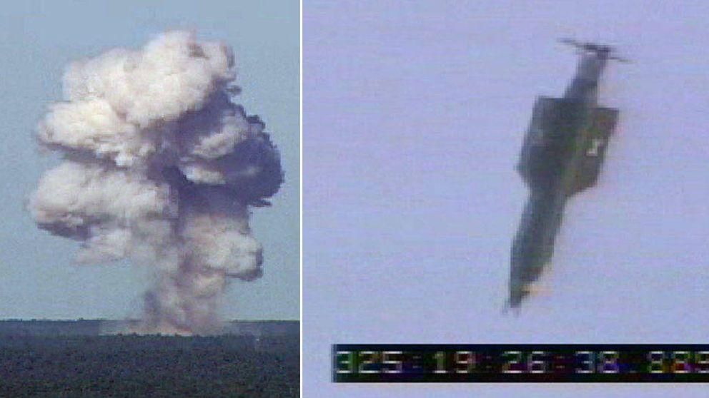 EEUU lanza por primera vez su bomba no nuclear más potente en Afganistán