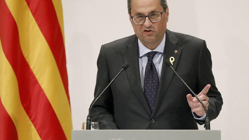 Torra pide a Sánchez una reunión urgente para hablar del alegato de la Fiscalía