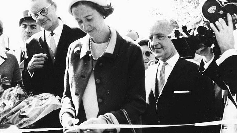 Fabiola de Bélgica en 1967. (Getty)