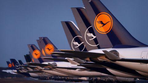 Lufthansa despega en bolsa tras un posible rescate de 9.000M de Alemania