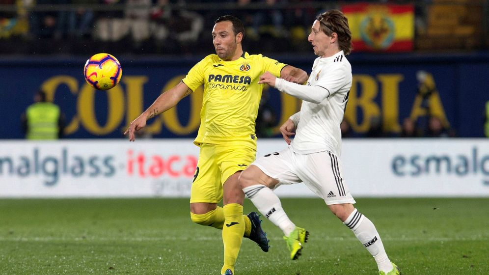 Foto: Villarreal - Real Madrid (EFE)