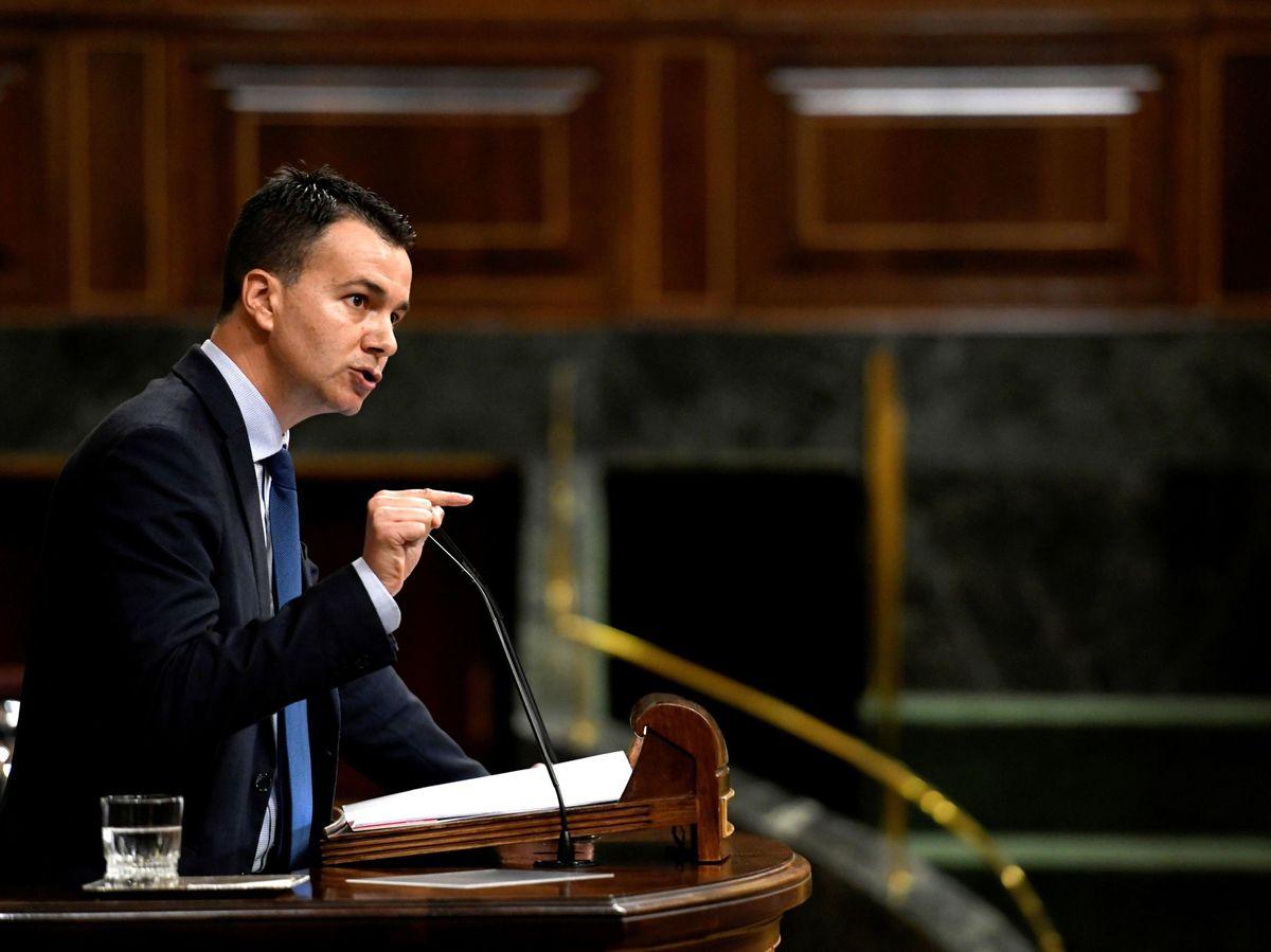 Foto: El diputado del PSOE Héctor Gómez Hernández. (EFE)