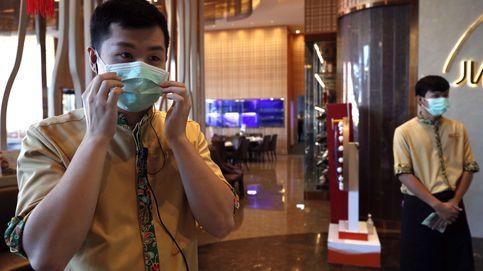 El negocio del coronavirus: un fabricante japonés de mascarillas sube un 370% en bolsa