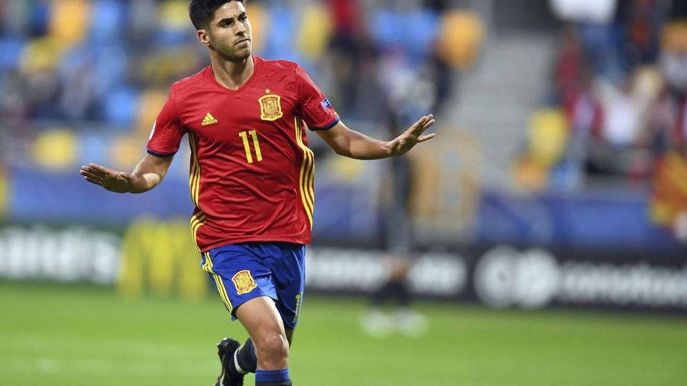 Foto: Tranquilos, yo me ocupo, parece decir Asensio. (UEFA)