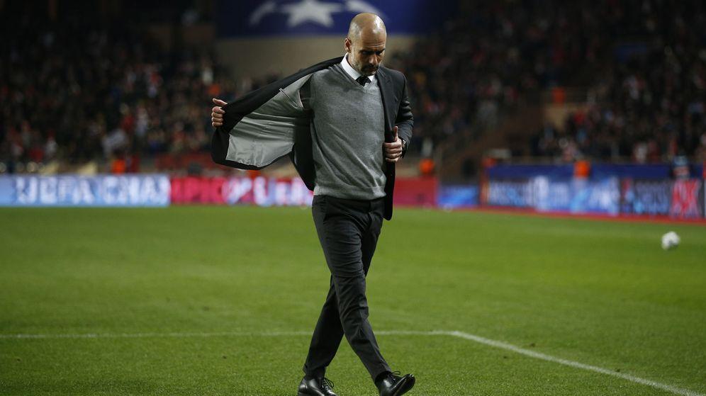 Foto: Guardiola no estará en los cuartos. (Reuters)