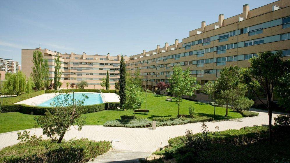 Foto: Zona residencial del parque Conde Orgaz.