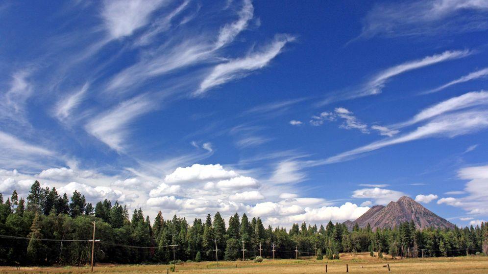 Foto: La geoingeniería trataría de generar cirros - nubes de hielo- para que reflejen más luz solar