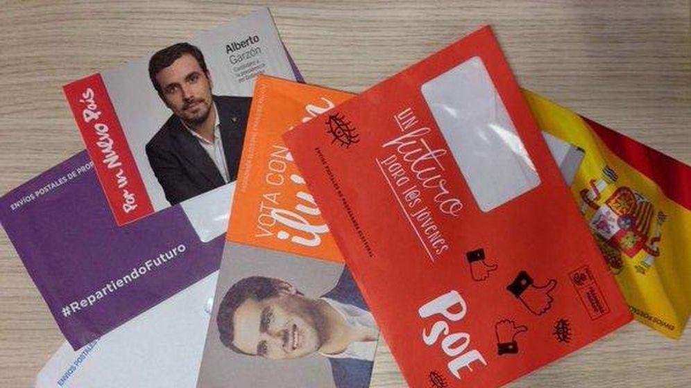 Foto: Propaganda electoral enviada por los partidos de cara al 20-D. (Efe)