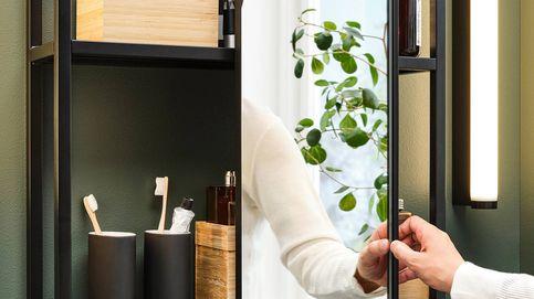 Un baño práctico y coqueto gracias a esta imaginativa solución de Ikea