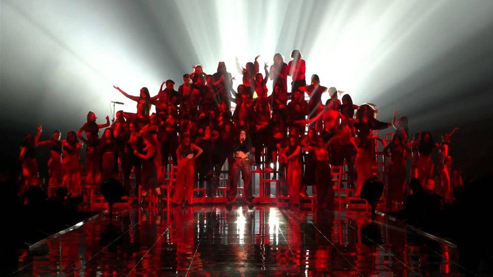 La actuación flamenca de Rosalía en los MTV EMA Sevilla 2019