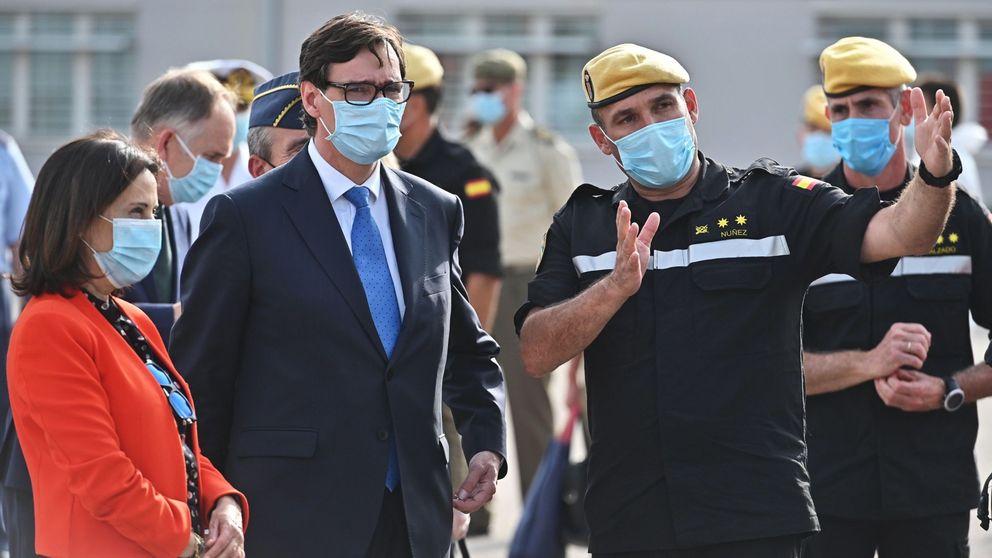 El Gobierno envía a la UME a desinfectar Mercamadrid