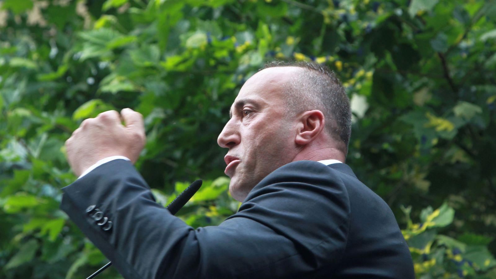 Foto: El primer ministro de Kosovo  Ramush Haradinaj. (Reuters)