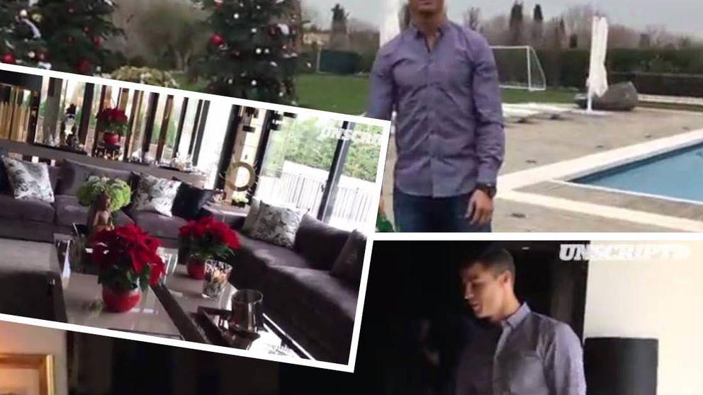 Cristiano te invita a dar un paseo por su mansión de La Finca en Madrid