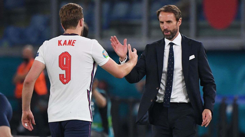 Kane volvió a ser la estrella inglesa. (Reuters)