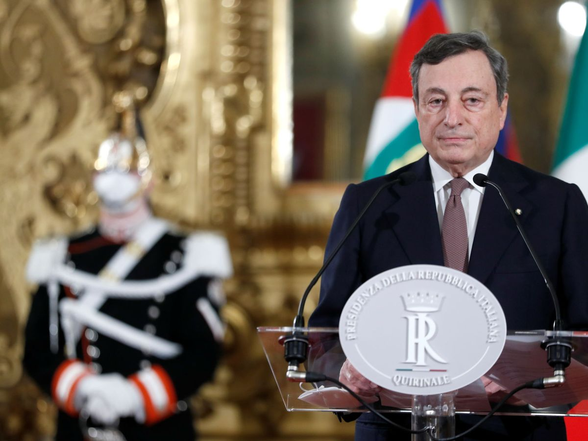 Foto: Mario Draghi (Reuters)
