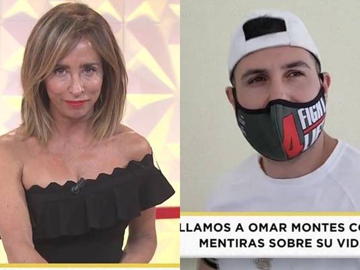 Foto: María Patiño y Omar Montes. (Mediaset España)