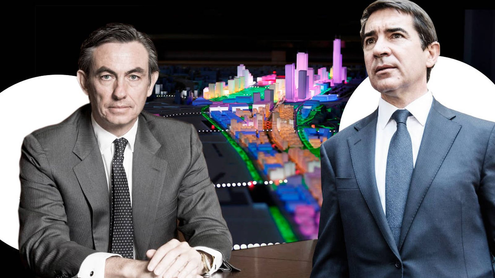 Foto: Álvaro Aresti y Carlos Torres (d). (Imagen: EC)