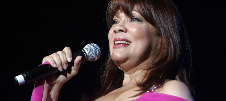 Foto: La cantante Ángela Carrasco (I.C)