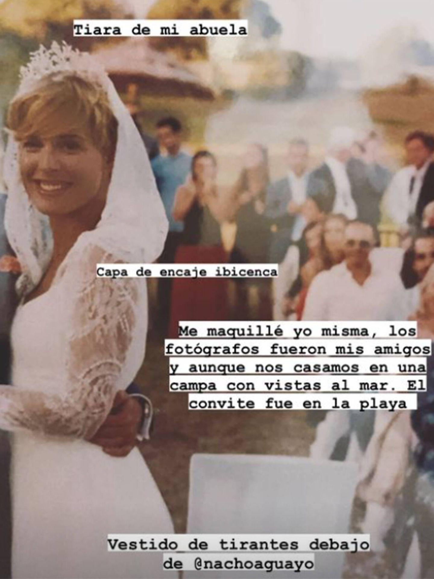 Tania Llasera revela detalles del día de su boda en redes sociales. (Instagram @taniallasera)