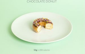 Guía práctica para adelgazar: esto son 200 calorías reales, dependiendo del alimento