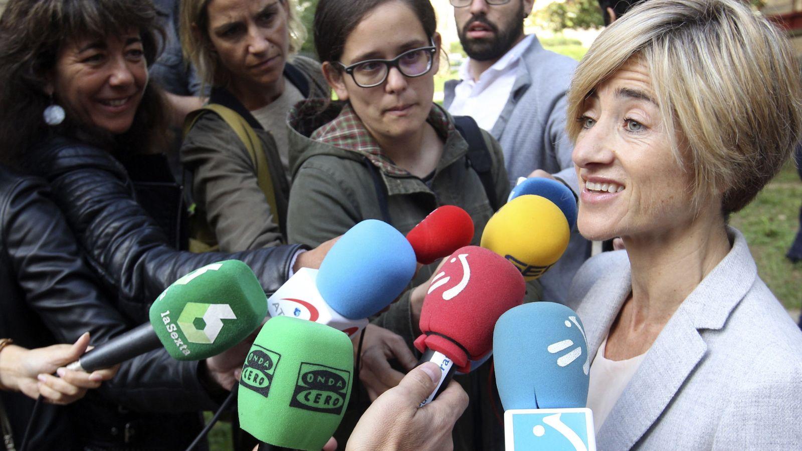 Foto: La candidata a lendakari por Elkarrekin Podemos, Pilar Zabala (EFE)