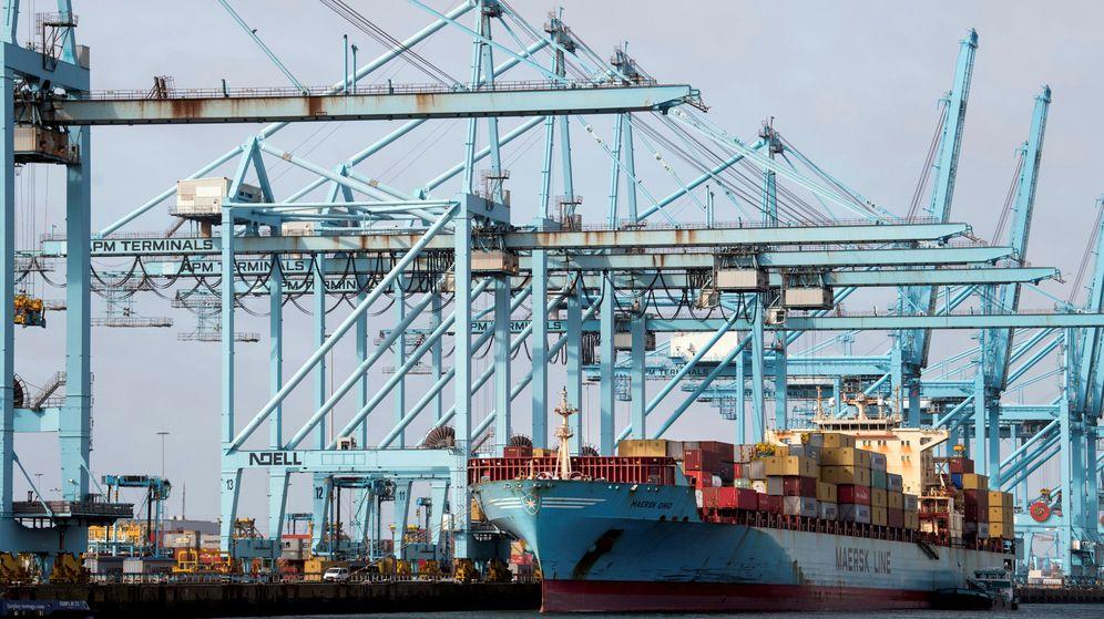 Foto: El puerto de Róterdam, en Países Bajos. (Reuters)