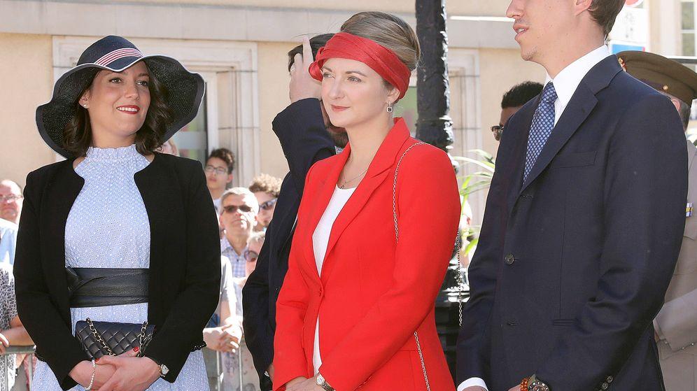 Foto: La gran duquesa heredera y la princesa Alexandra. (Gtres)