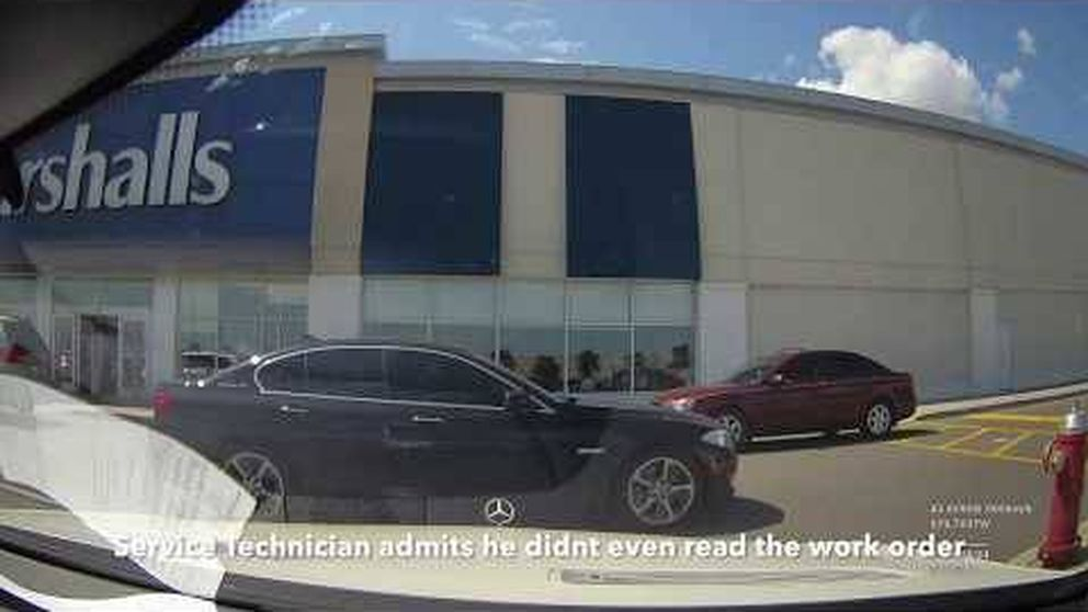 ¿Qué pasa cuando dejas el coche en este taller canadiense con una cámara oculta?