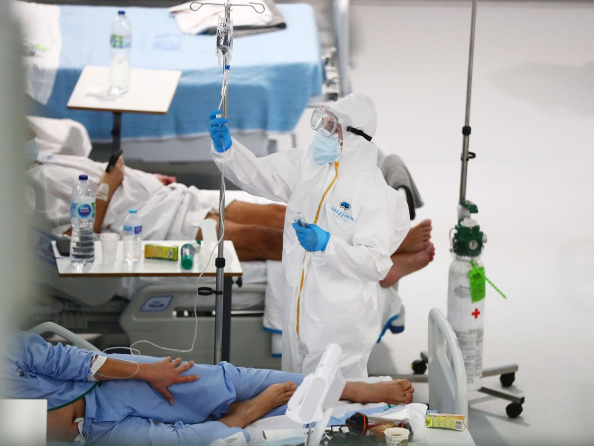 Foto: Imagen de archivo del Hospital Isabel Zendal, en Madrid. (Reuters)