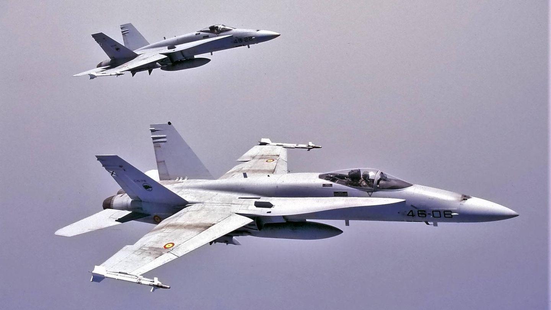 Los F-18 del 462 Escuadrón Gando necesitan urgente reemplazo. (Juanjo Fernández)