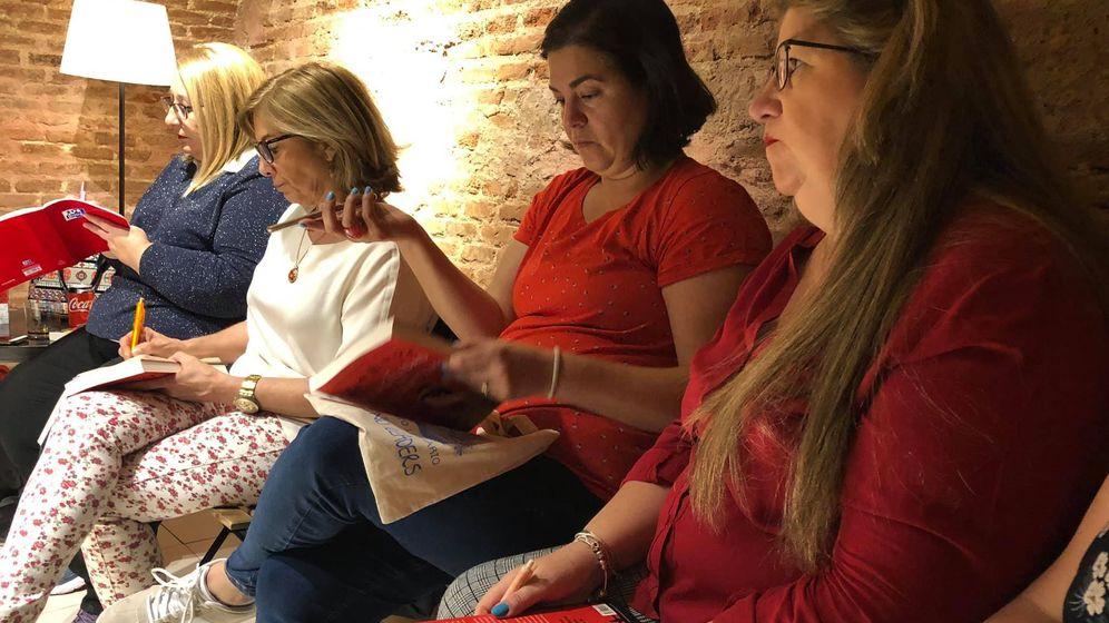 Foto: 'Locura de libros', el club de lectura de Pepa. (Foto: Pepa Muñoz)