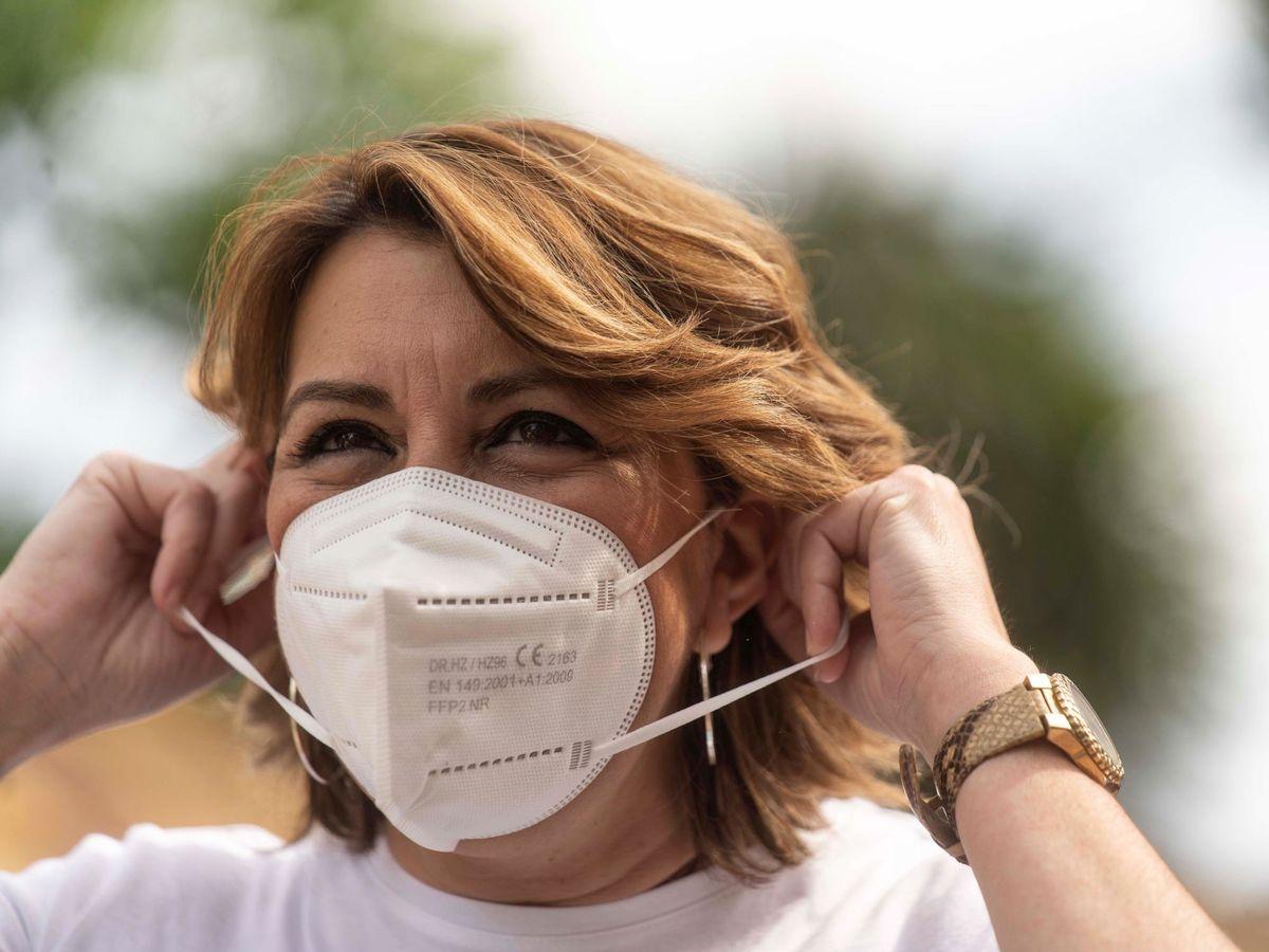 Foto: La candidata a las primarias del PSOE andaluz, Susana Díaz. (EFE)